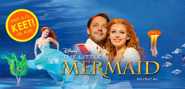 ALLERLAATSTE KANS €25 DISNEY'S THE LITTLE MERMAID
